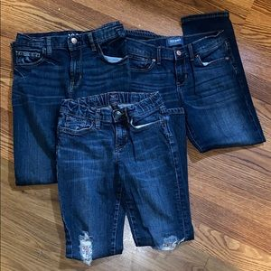 girls 10/12 jeans bundle